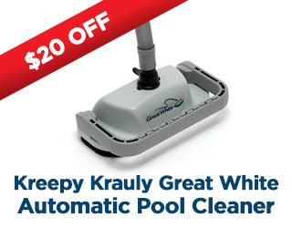 $10 Off Kreepy Krauly Great White