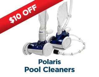 $10 Off Polaris Pool Cleaners