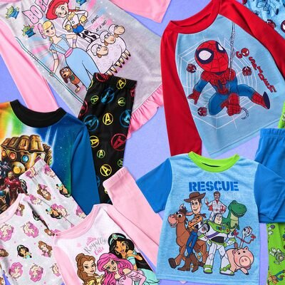 Pajama Party: Kids' Character PJs