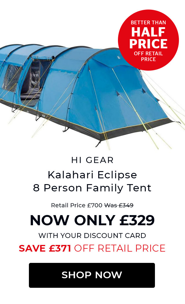 Hi Gear Kalahari Eclipse 8 Person Family Tent