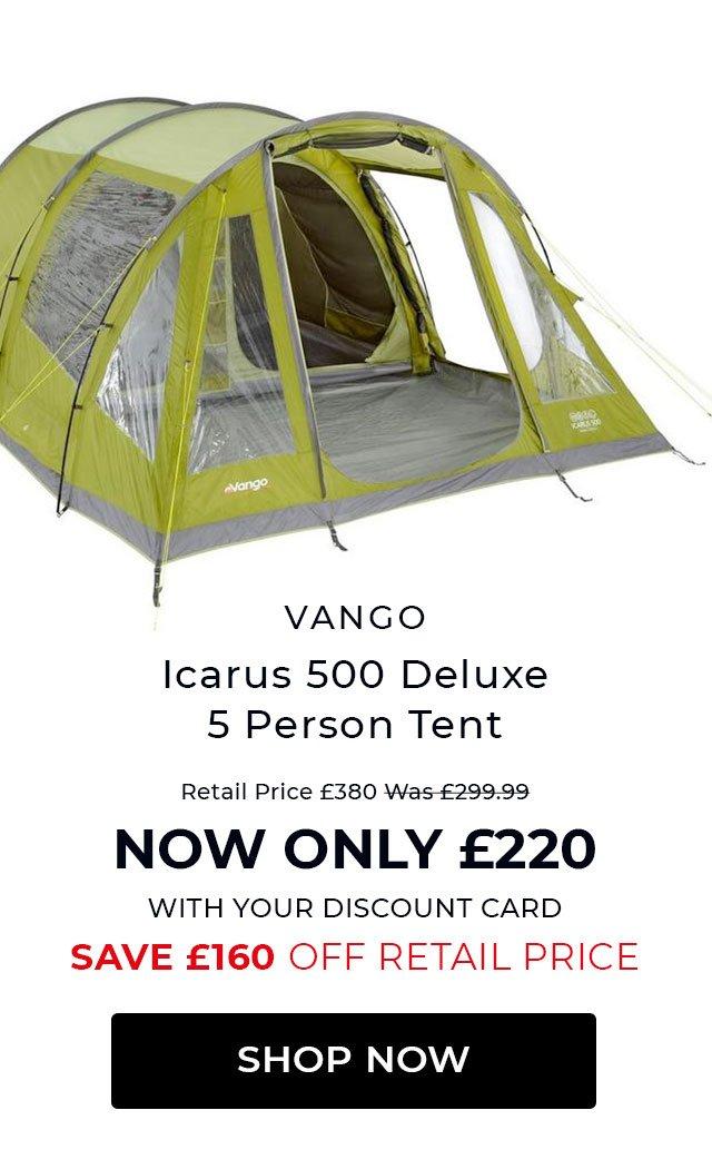 Vango Icarus 500 Deluxe 5 Person Tent