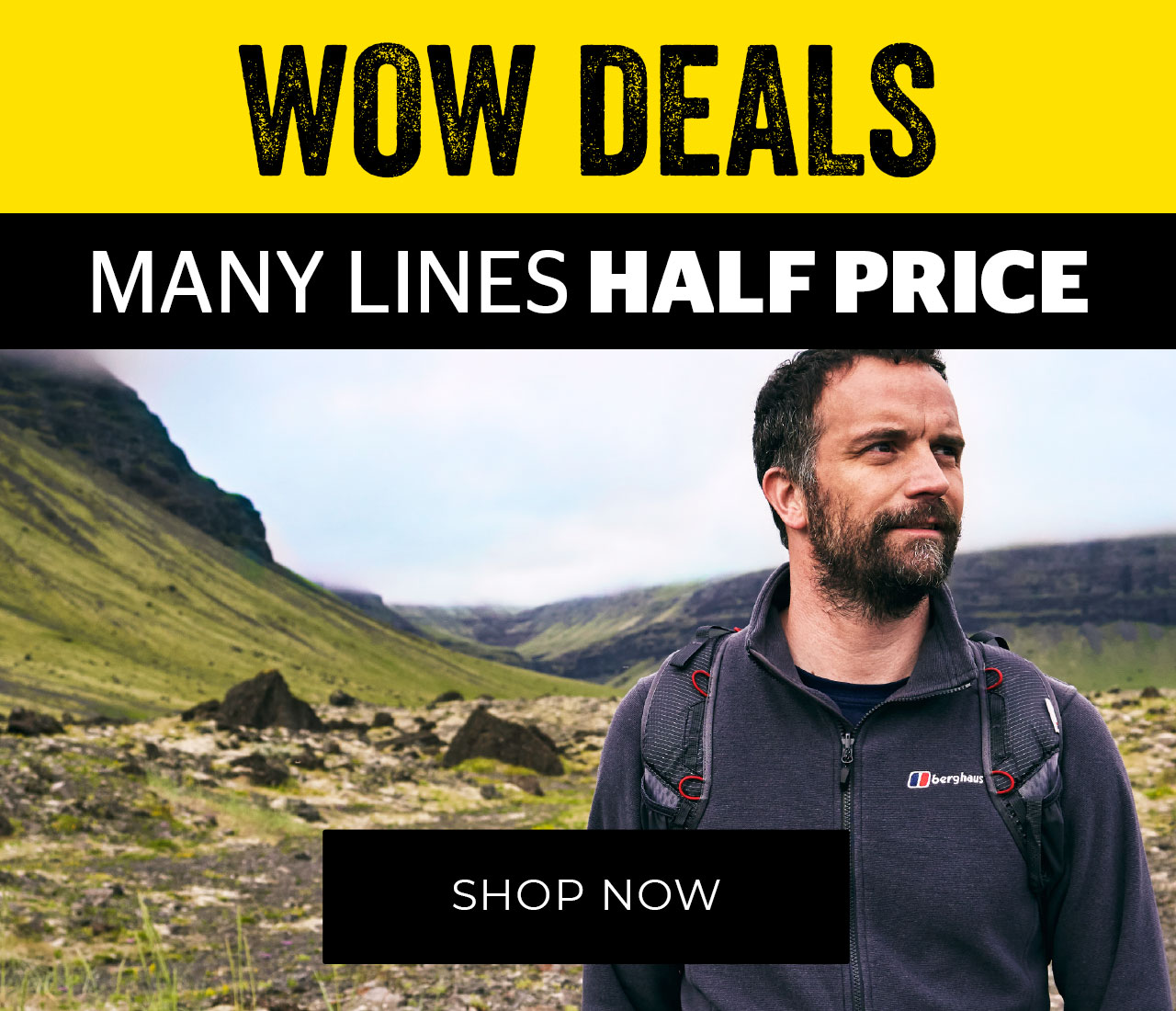 Camping sale - final reductions
