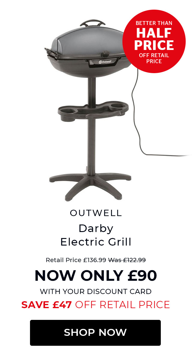 Outwell Darby electric Grill