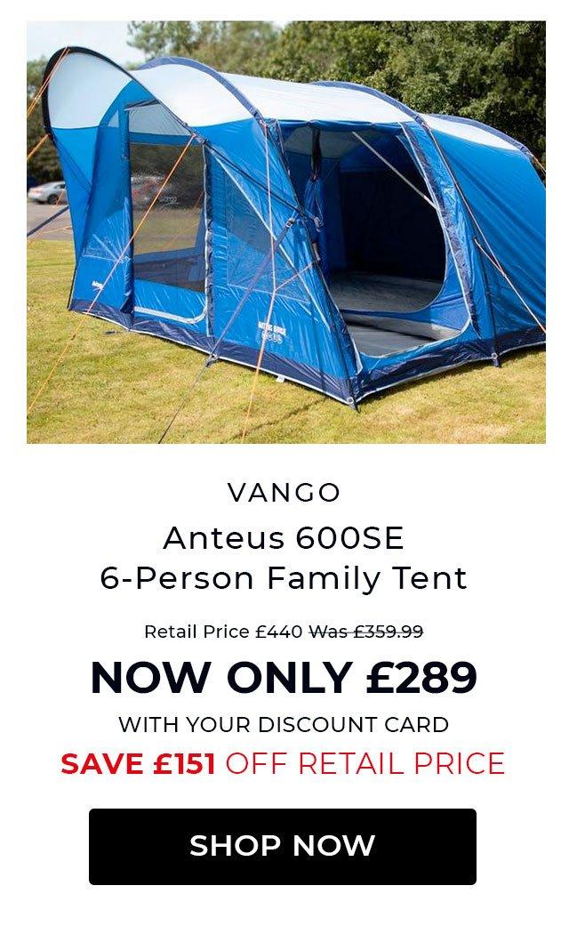 Vango Anteus 600 SE tent