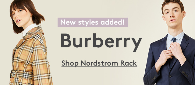 New styles added! Burberry