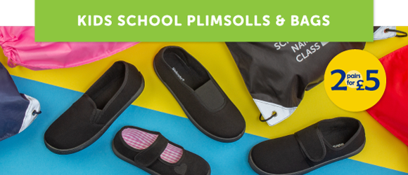 Two-For-Five-Plimsolls-&-Bags