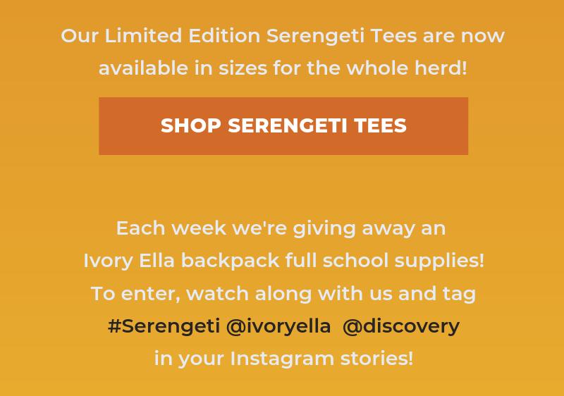 Shop Serengeti Tees
