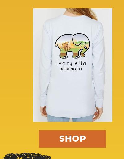 Moonstone Serengeti Lion Ella Tee