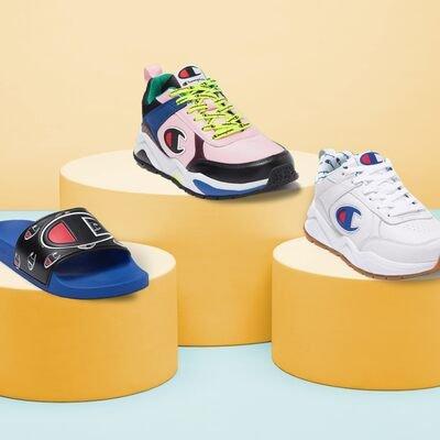 Champion Men's Slides & Sneakers