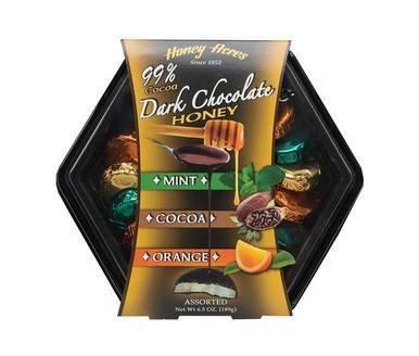 Image of Dark Chocolate Honey Truffles Assortment 2-Pack