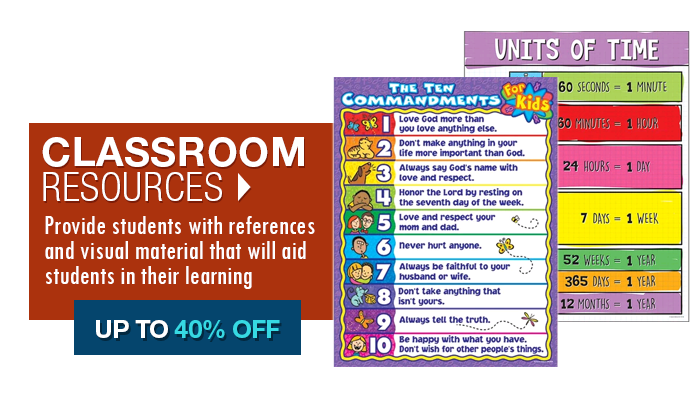 Up to 40% off Classroom Supplies