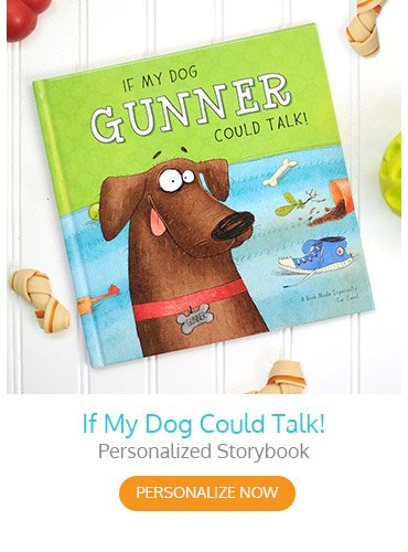 If My Dog Could Talk! Personalized Storybook