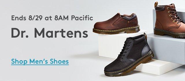 Ends 8/29 at 8Am Pacific | Dr. Martens | Shop Men's Shoes