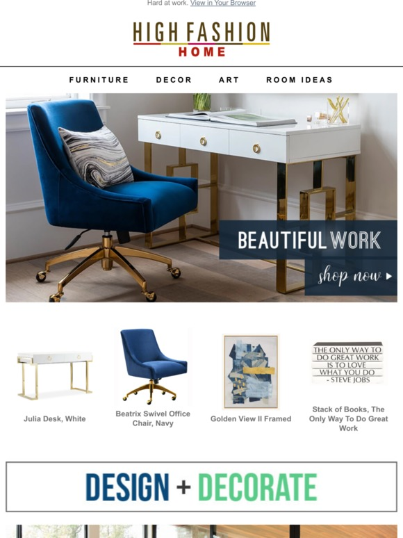 High Fashion Home Beautiful Work Milled