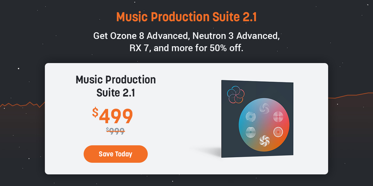 iZotope: Ends tomorrow: 30% off iZotope favorites | Milled