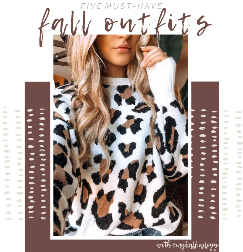 fall must have outfits