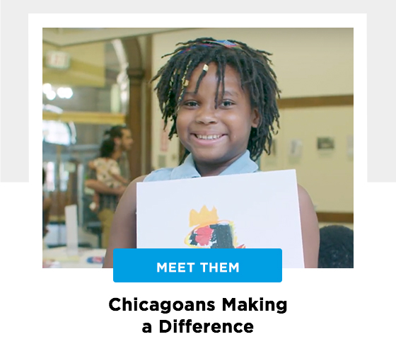 Chicago women making a difference. Meet them.