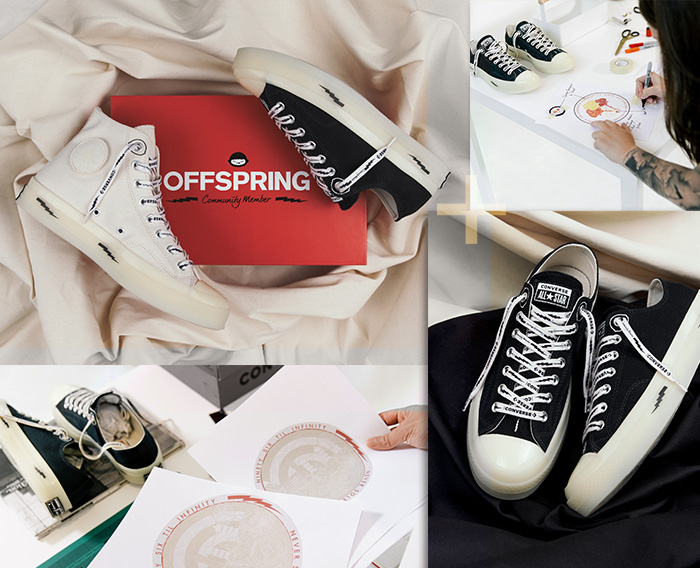 Offspring: Converse X OFFSPRING Milled  Milled
