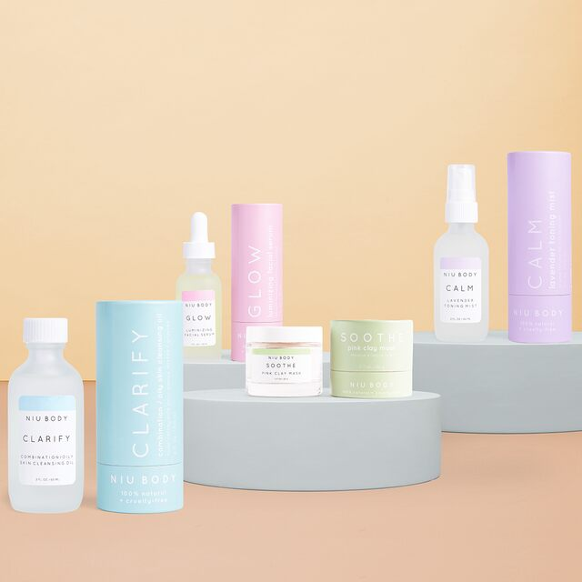 NIU BODY Natural Skin Care Starting at $10