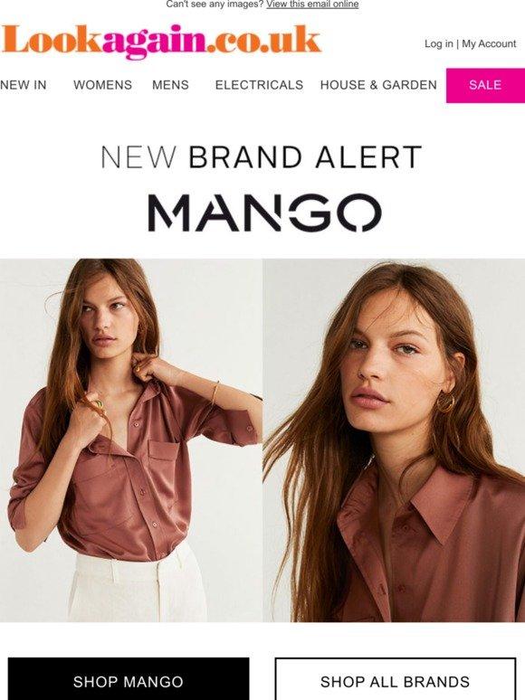 Look Again: New Brand Alert: MANGO | Milled