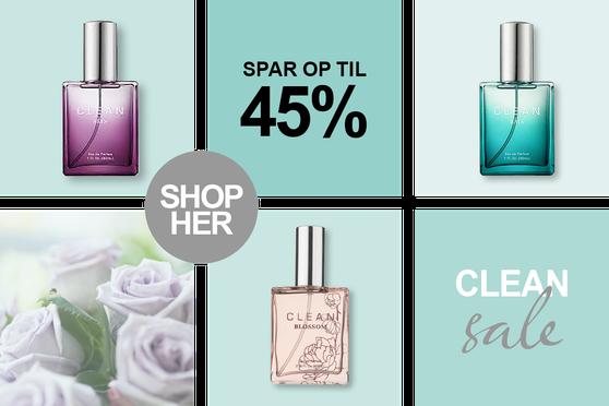 Tilbud Clean Parfume