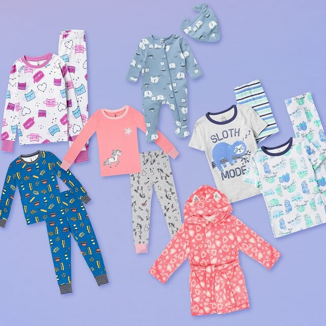 Slumber Party: Kids' Pajamas Under $20