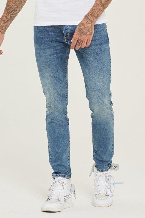 Slim Fit Blue Denim Jeans