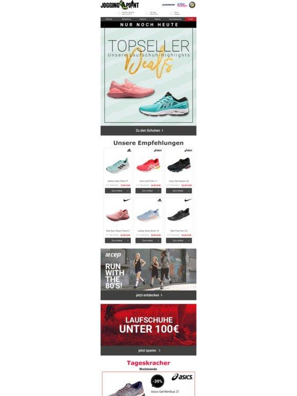Laufschuhe | bis 50% reduziert | Jogging Point