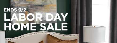 Labor Day Home Sale, ends September 2