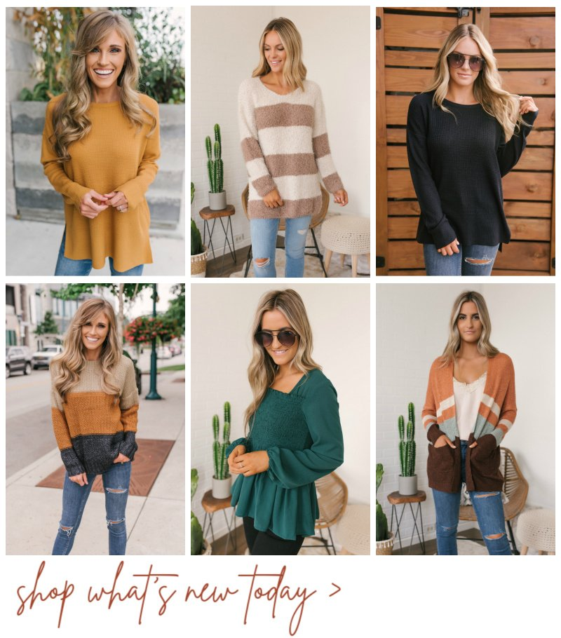 fall sweaters and tops