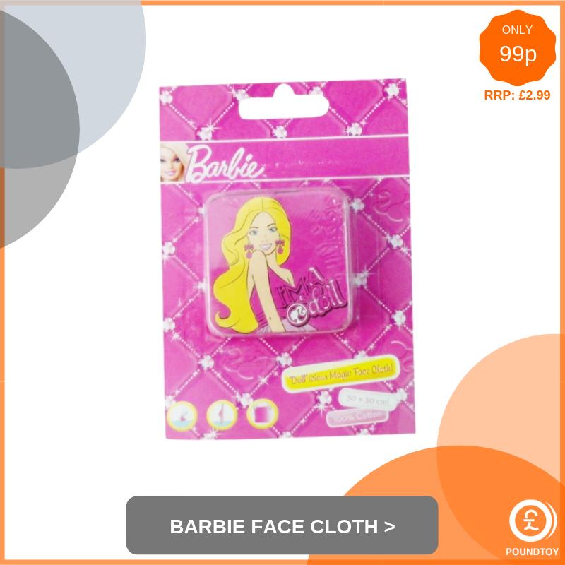 Barbie Face Cloth