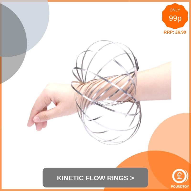 Kinetic Flow Rings
