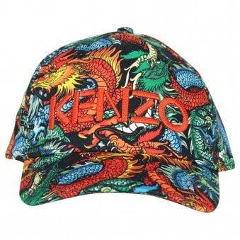 Kenzo Kids Gian Cap Black