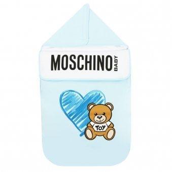 Moschino Baby Nest Blue