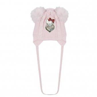 Monnalisa Hat Pink