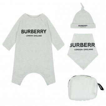 Burberry Maemae Set White Melange