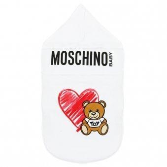 Moschino Baby Nest White