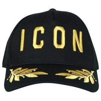 Dsquared2 Icon Cap Black