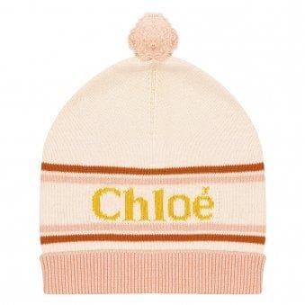Chloe Hat Pale Pink