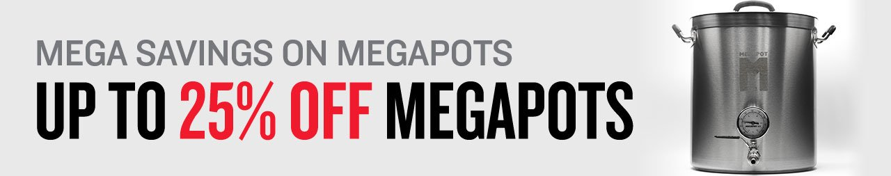 Up to 25% Off MegaPot Brew Kettles