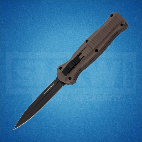 BENCHMADE 3300BK-1901 INFIDEL AUTOMATIC CPM-S30V STEEL BLADE 6061-T6 ALUMINUM HANDLE
