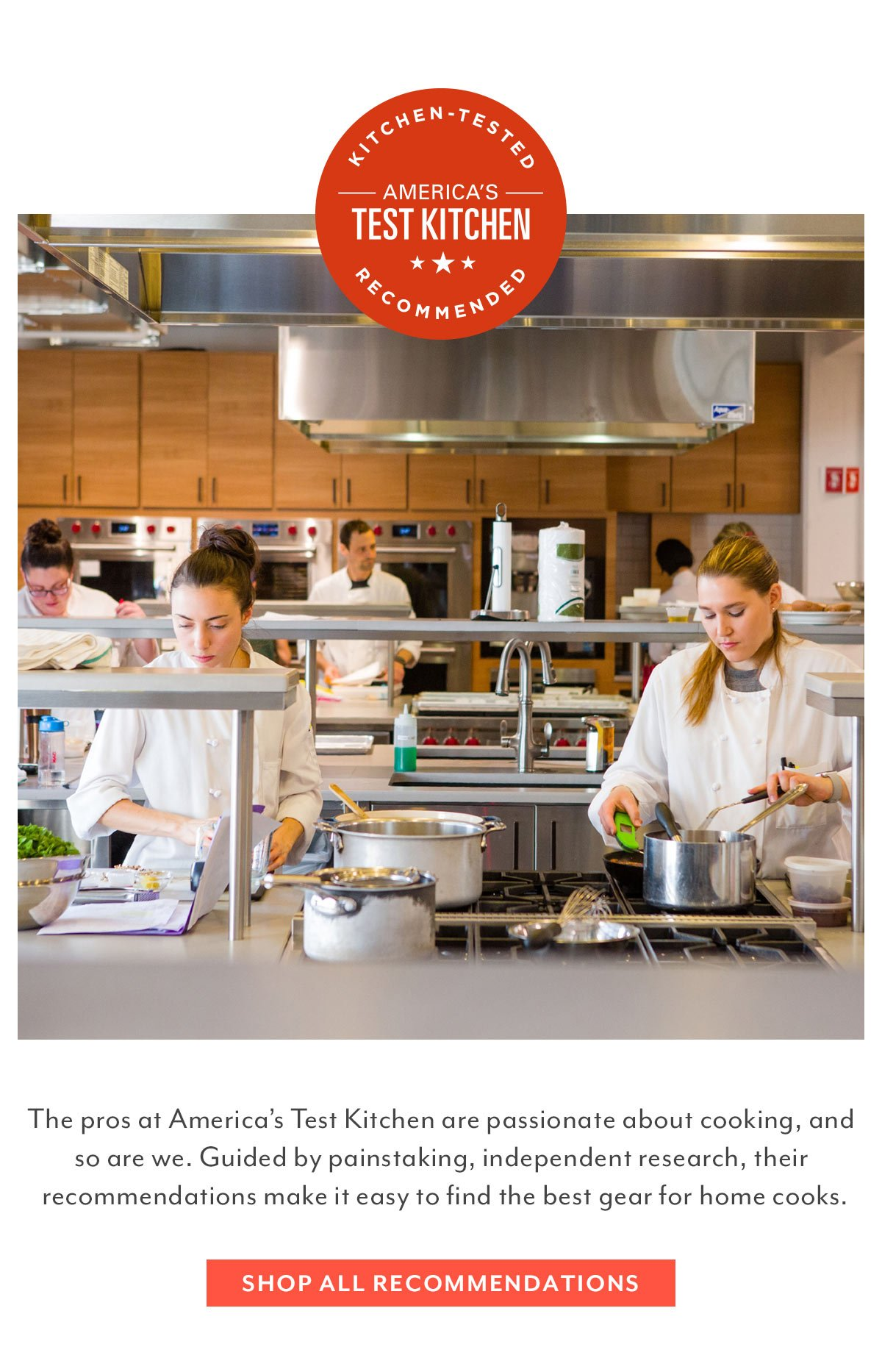 America's Test Kitchen Recommendations