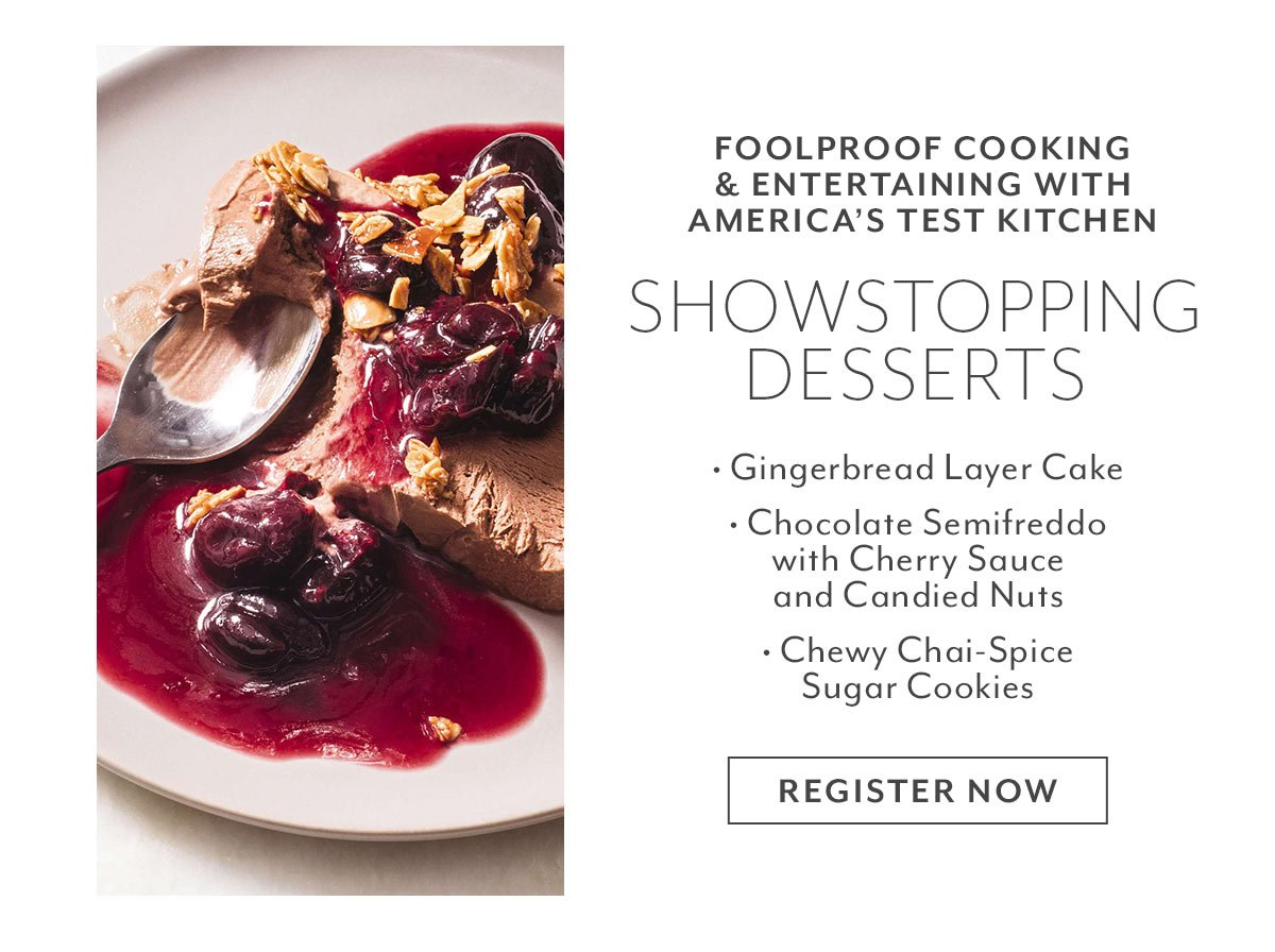 Class: Showstopping Desserts