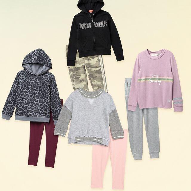 Girls' Fall Favorites: Sweatshirts, Leggings & More