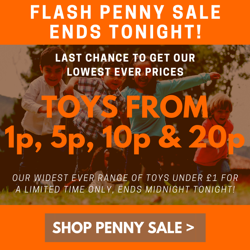 Penny Sale Ends tonight