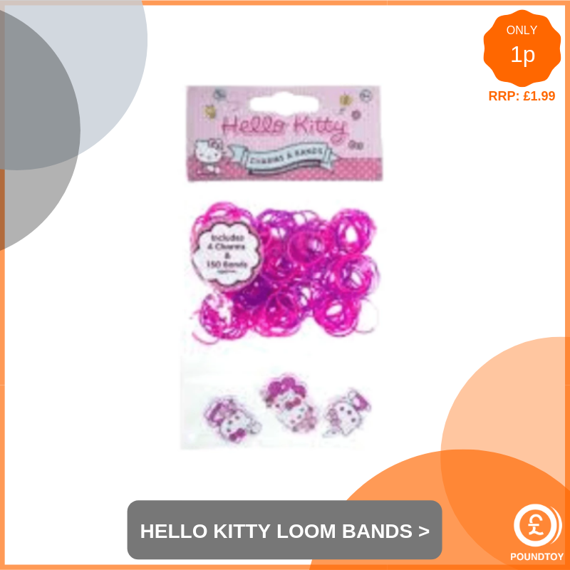 Hello Kitty Loom Bands