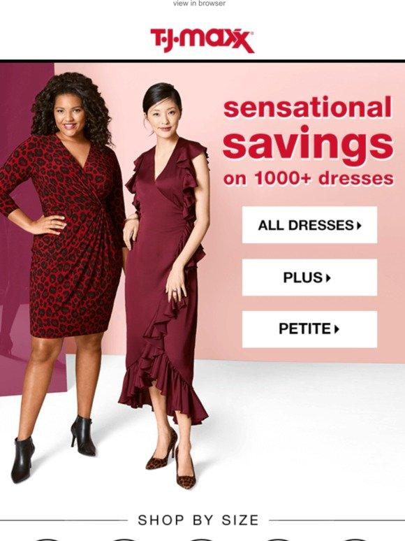 TJ Maxx : So. Many. Dresses. 👗 | Milled