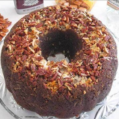 Image of German Chocolate Cake with Caramel Vodka