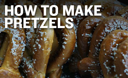 How to Make Pretzels from Spent Grain
