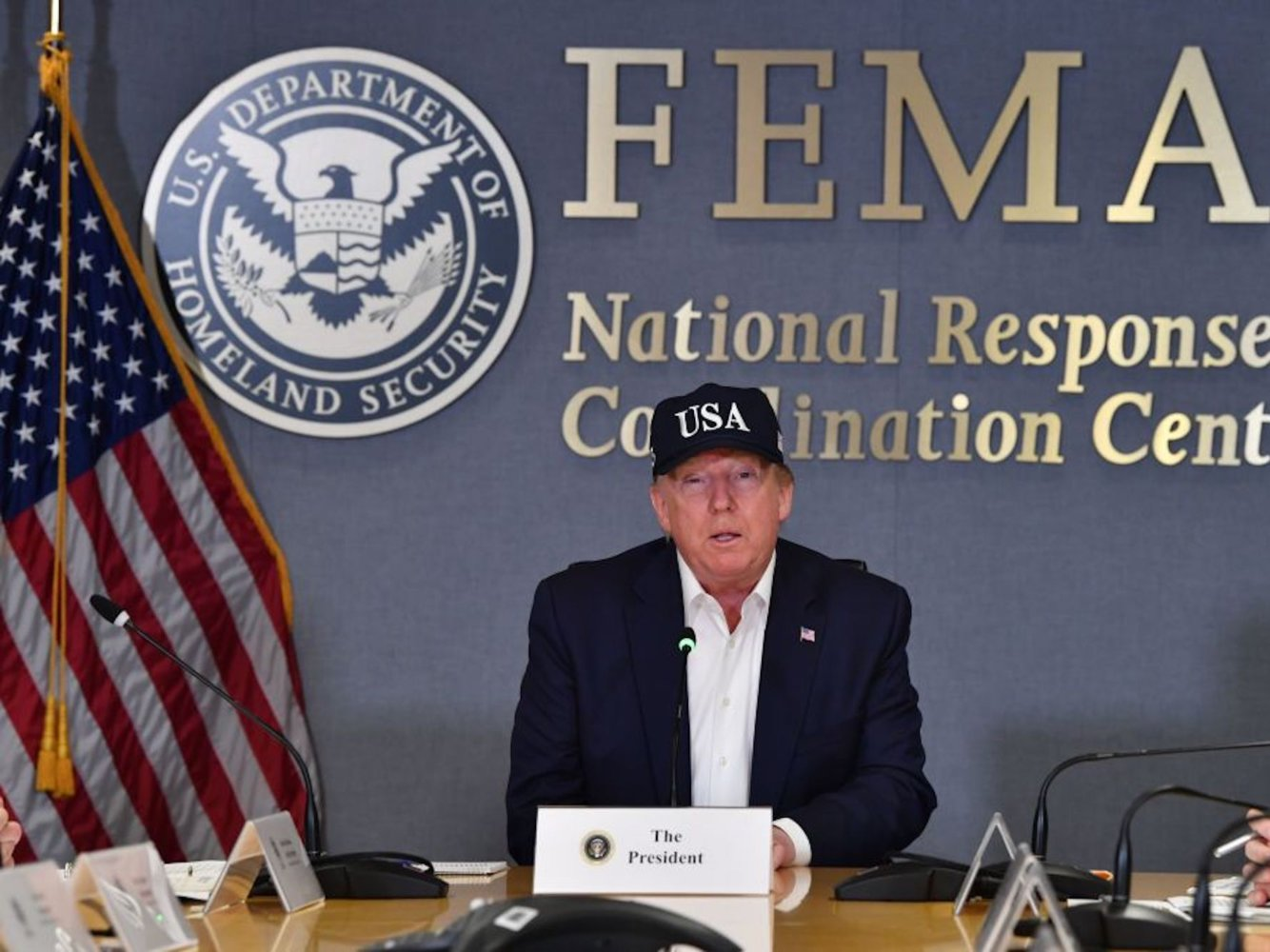 The National Weather Service corrected Trump after he falsely claimed that Hurricane Dorian was expected to hit Alabama